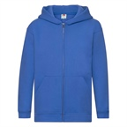 Dziecięca bluza reklamowa Zip Through Hooded Sweat