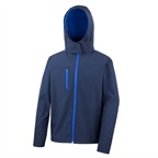 Męska kurtka reklamowa Performance Hooded Soft Shell