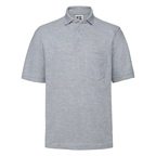 Adults' Heavy Duty Cotton Polo marki Russell