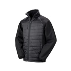 Kurtka reklamowa Black Compass Padded Softshell Jacket